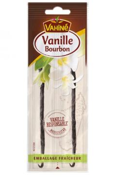 Lot de 3 packs gousses de vanille bourbon - 3x2