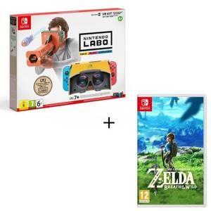 Kit VR Toy-Con 04 - Ensemble de base + canon + The Legend of Zelda : Breath of the Wild sur Nintendo Switch