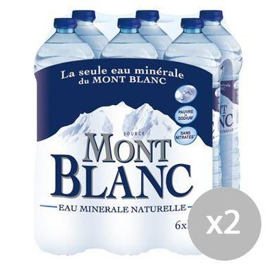 Lot de 2 Packs Mont Blanc soit 12 x 1.5L (via BDR)