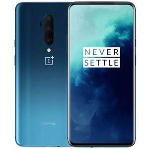"Smartphone 6.67"" OnePlus 7T Pro - Snapdragon 855, 8Go RAM, 256Go, Version Internationale, Bleu"