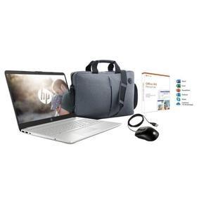 "Pack PC portable 15.6"" HP 15-dw0080nf (i3-7020U, 4 Go de RAM, 1 To + 128 Go en SSD + Sacoche + Souris + Office"