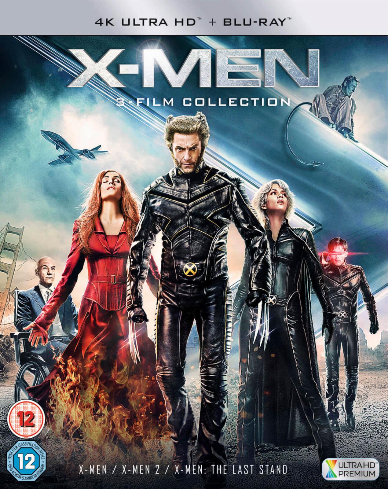 Coffret Blu-ray X-Men Trilogy : X-Men + X2: X-Men United + X-Men: The Last Stand (4K Ultra HD + Blu-ray)