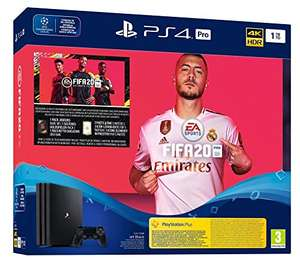 Console Sony PS4 Pro 1 To + FIFA 20