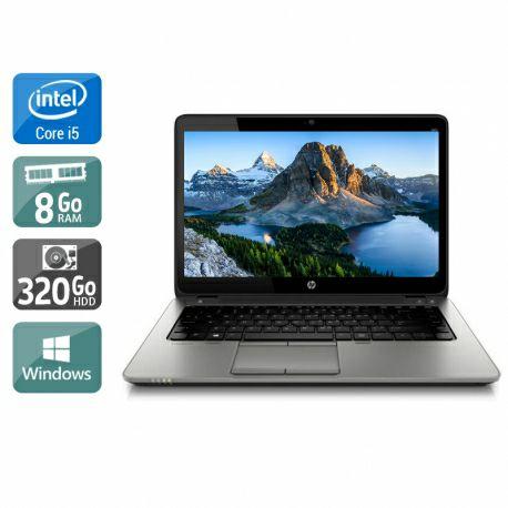 """PC Portable 14"""" HP Elitebook 840 - i5 4200U, 8 Go RAM, 320Go HDD, Windows 10 Home (Reconditionné) - kiatoo.com"""