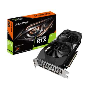 Carte graphique GigaByte GeForce RTX 2070 Windforce - 8 Go