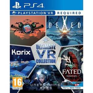 Ultimate VR Collection sur PS4