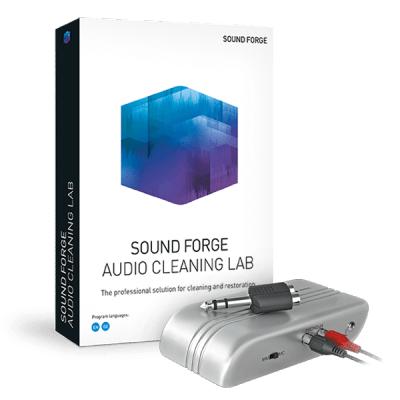 Sounde Forge Audio Cleaning Lab (Dématérialisé) + Pré-amplificateur USB 2.0