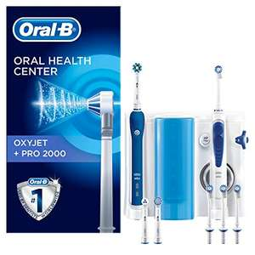 Combiné Oral-B Oxyjet Pro 2000+