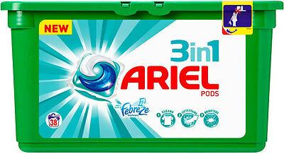 Boîte de 32 capsules Ariel 3-in-1 Pods (via BDR + 11.19€ BA)