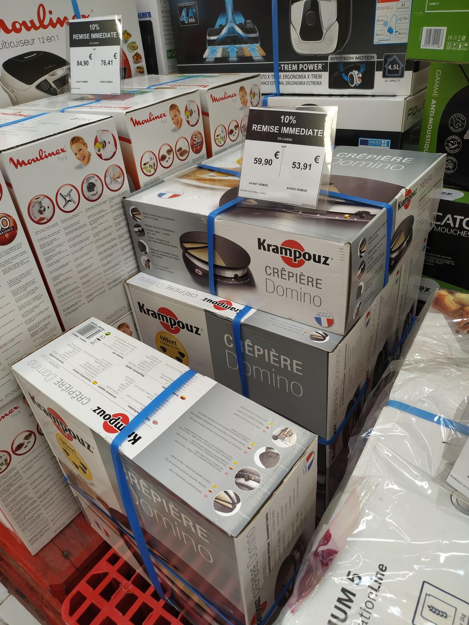 Crêpière électrique Domino krampouz Carrefour 13127 - Vitrolles (13)