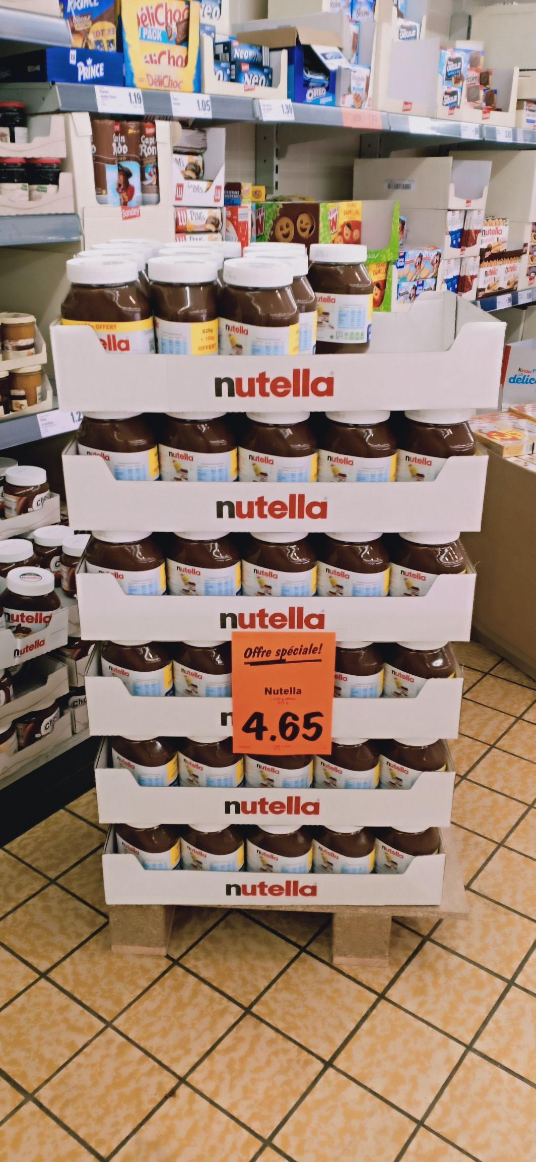 Pot de pâte à tartiner Nutella (975gr) - Athis Mons (91)