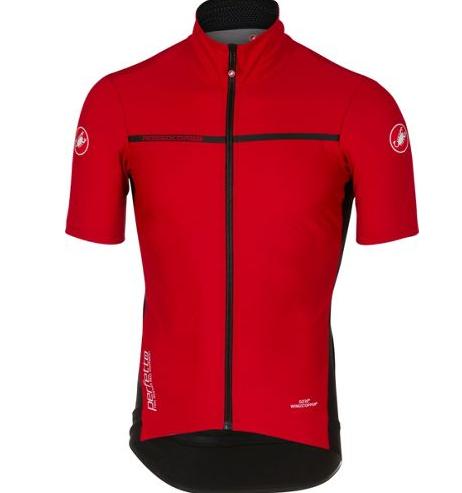 Maillot Castelli Perfetto Light 2 pour Vélo (Rouge ou Jaune)