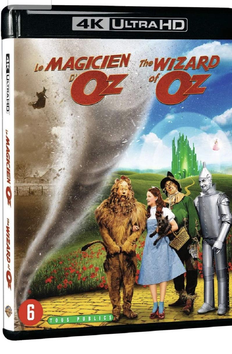 Blu-ray 4K UHD Le Magicien d'Oz
