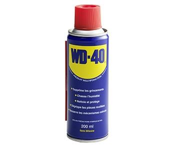 Spray aérosol multifonction WD40 (200 ml) - Carter-Cash