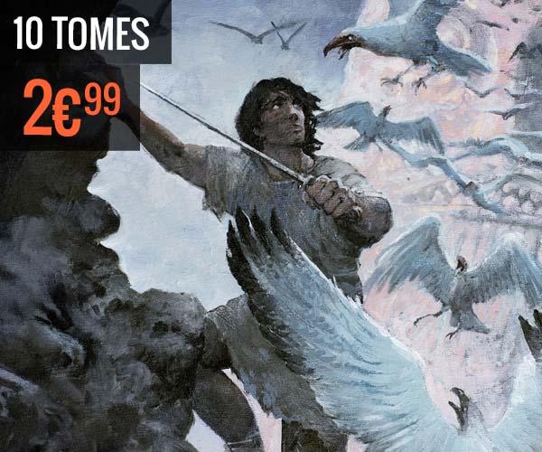 Les 10 premiers tomes de la BD Thorgal à 2,99€ pièces (dématérialisé)