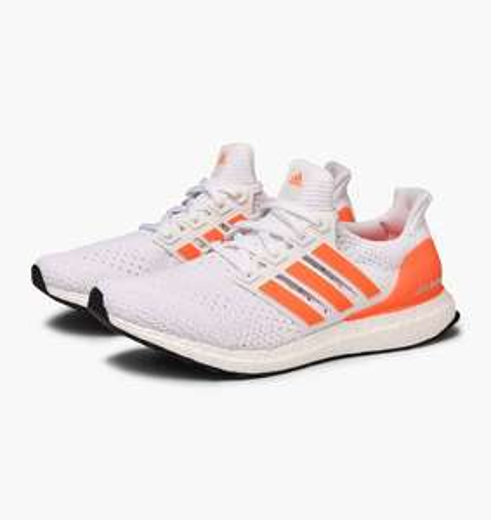 Baskets basses Adidas Ultra Boost Clima U - Taille au choix, Blanc / Orange