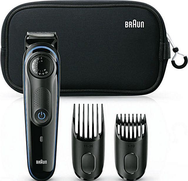 Tondeuse à barbe Braun BT3940TS + Trousse 100% remboursée en 2 bons d'achat de 29.95€