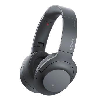 Casque audio sans-fil Circumaural à réduction de bruit Sony WH-H900N - Noir