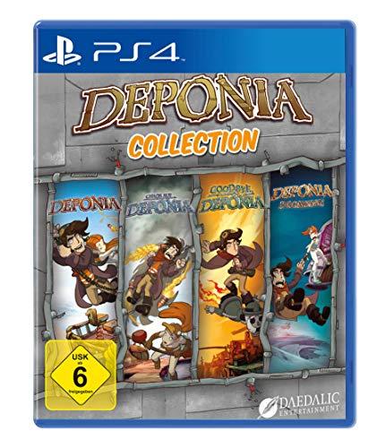 Jeu Deponia collection sur PS4 (Vendeur Tiers)