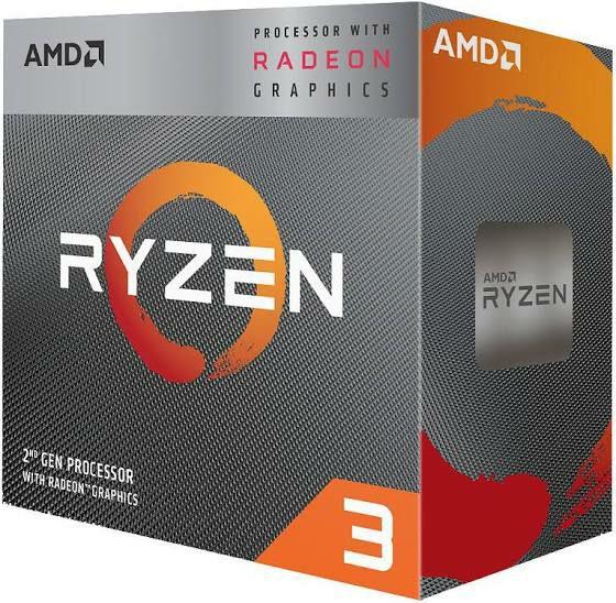 Processeur AMD Ryzen 3 3200G - 4 coeurs, 3,50 GHz, Vega 8 ( 86,99€ avec le code WELCOME19)