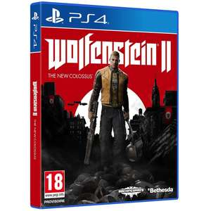 Jeu  Wolfenstein 2 - The New Colossus sur PS4