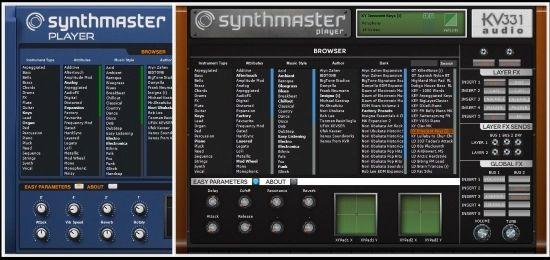 Logiciel SynthMaster Player Synth by KV331 Audio (Dématérialisé) - Pluginboutique.com