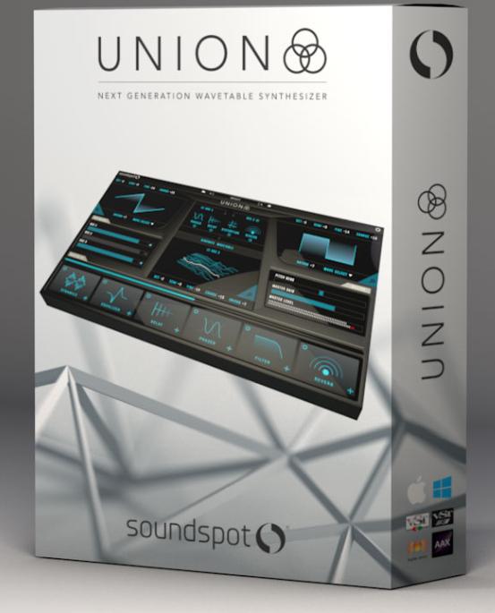 Logiciel Union Synth by SoundSpot (Dématérialisé) - Pluginboutique.com