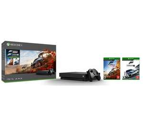 Console Microsoft Xbox One X - 1 To + Forza Horizon 4 + Forza Motorsport 7