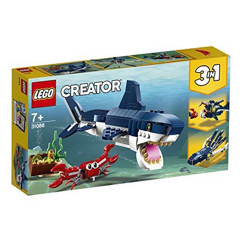 Jouet Lego Creator - Les créatures sous-marines (31088)