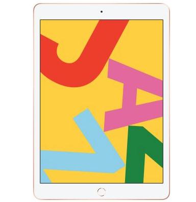 """Tablette 10.2"""" Apple iPad WiFi - 32 Go, Or Rose (Vendeur tiers)"""