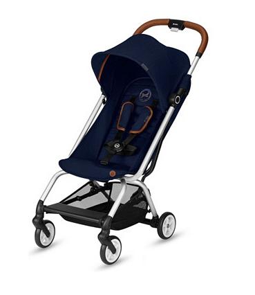 Sélection de poussettes et sièges auto Cybex en promotion - Ex : Poussette Cybex Eezy S Denim - Bleu, de 6 mois à 4 ans