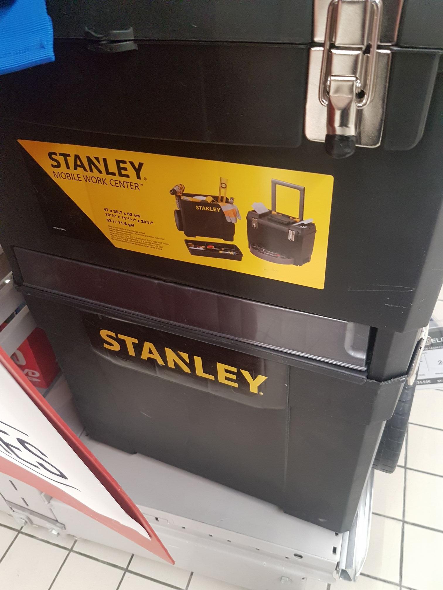 Servante 3en1 stanley Mobile Work Center (Via 24.95€ sur la Carte Fidelité) - Boisseuil (87)