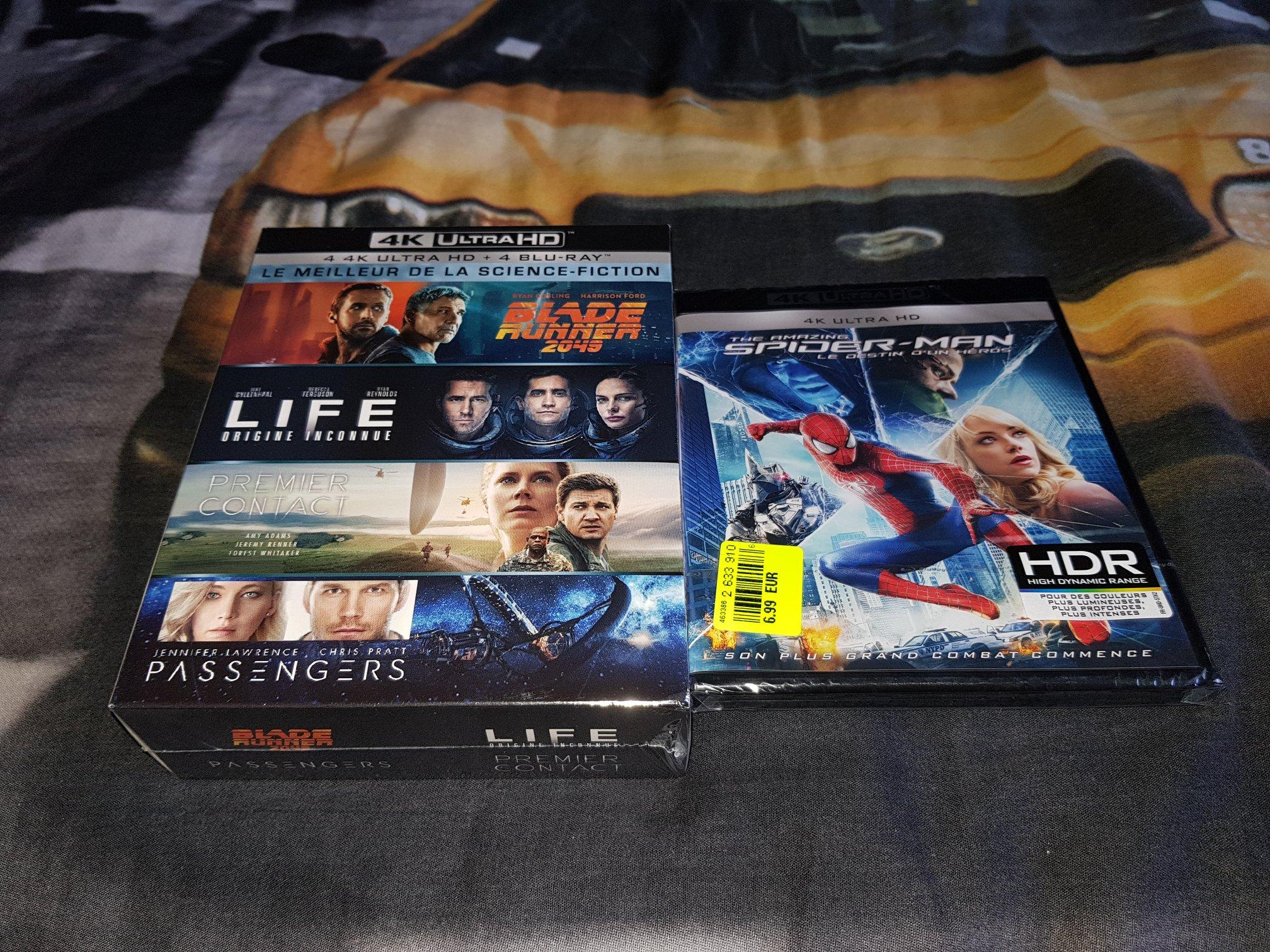 Sélection de Blu-ray 4K - Ex : Le Meilleur de la Science-Fiction (Lunéville 54)