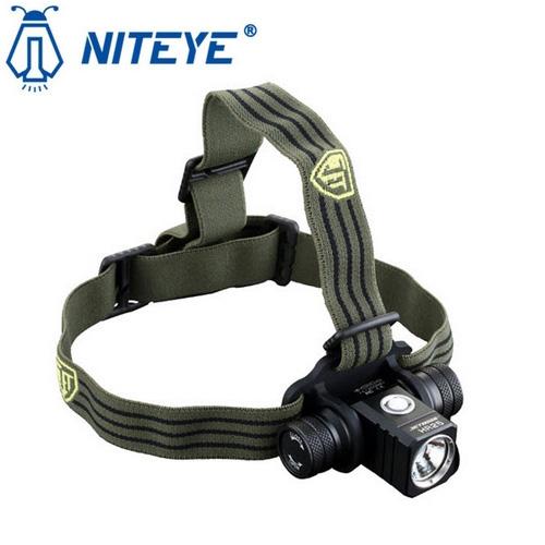 Lampe Frontale rechargeable Niteye HR25 - 1180Lumens, batterie Li-ion 18650 (ecologeek4u.com)