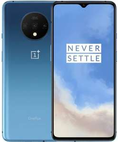 "Smartphone 6.55"" OnePlus 7T (B20/B28) - Full HD+, Snapdragon 855 Plus, RAM 8 Go, ROM 256 Go (Bleu)"