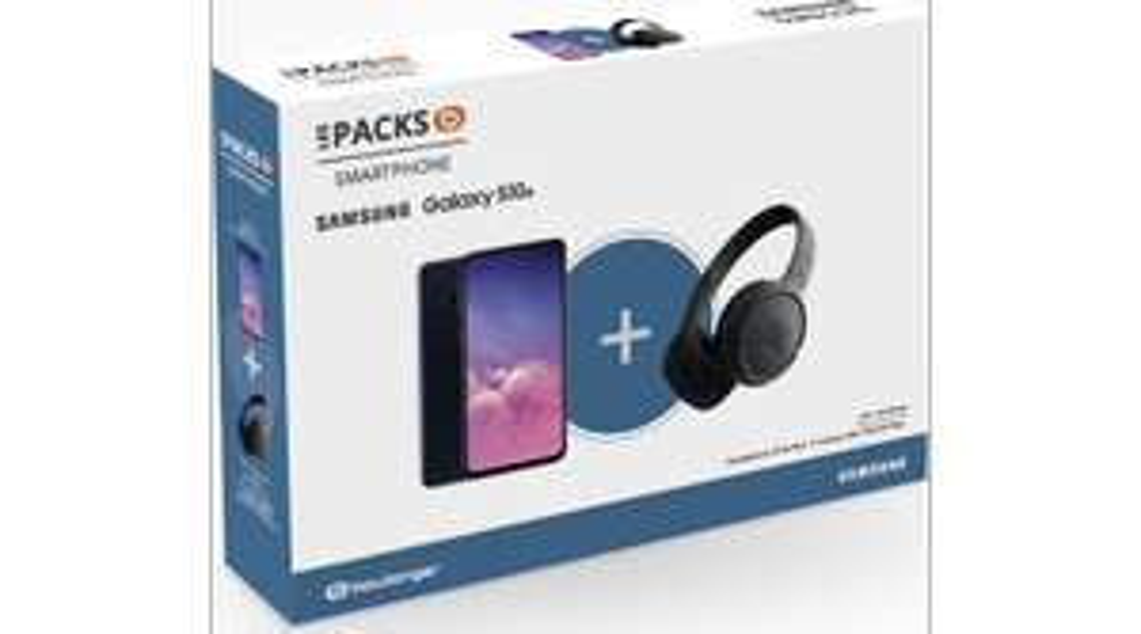 "Smartphone 5.8"" Samsung Galaxy S10e -128Go + Casque JBL T500 BT"