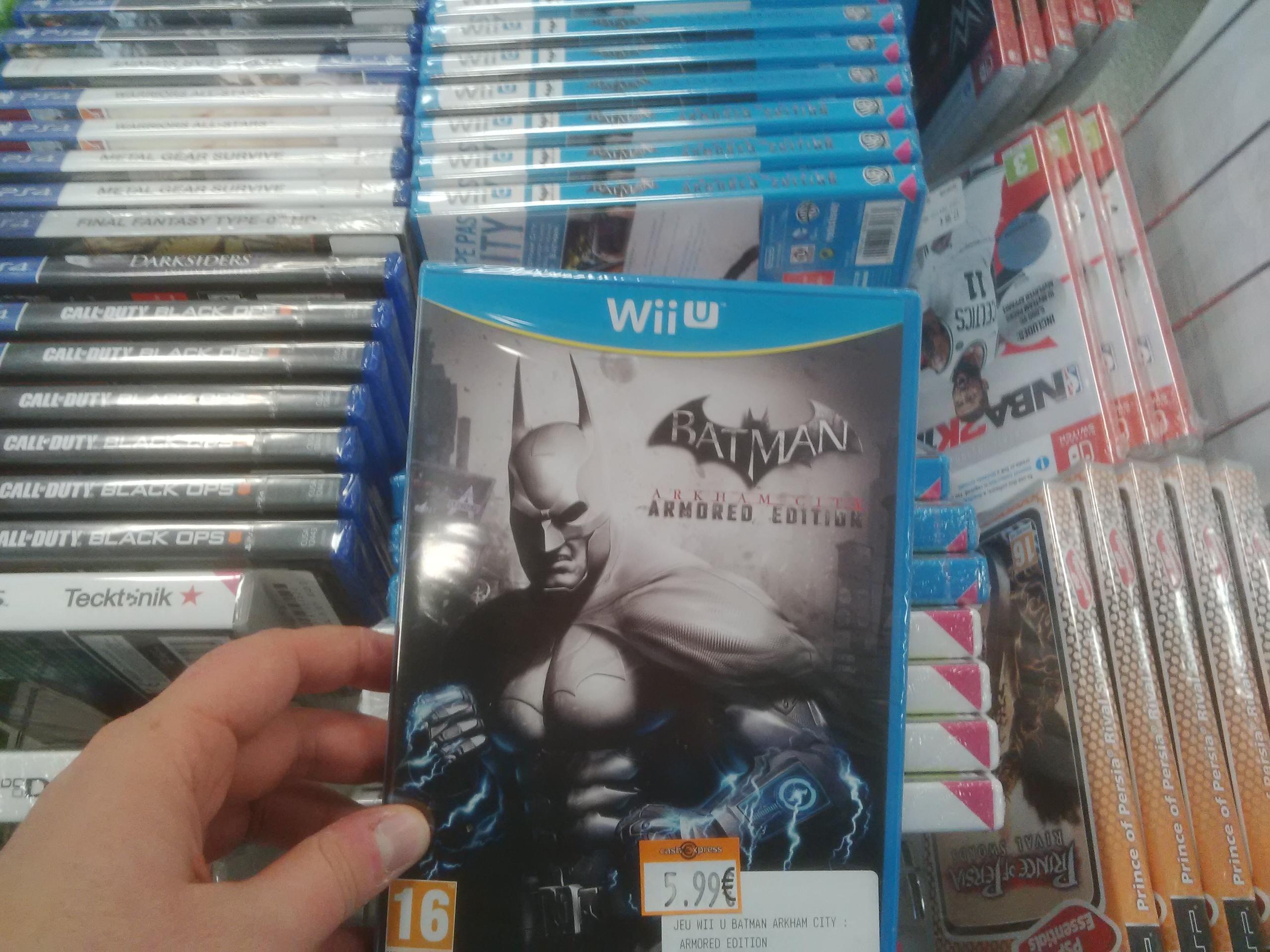 Batman Arkham City Armored Edition sur Wii U - Cash Express Montbéliard (25)