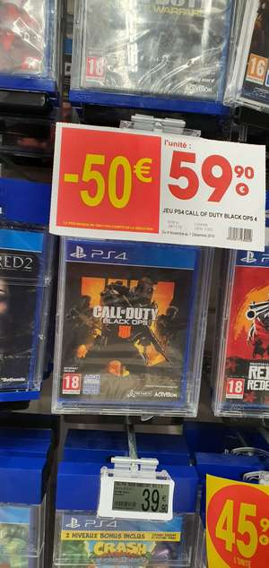 Call of Duty Black Ops IIII sur PS4 et Xbox One