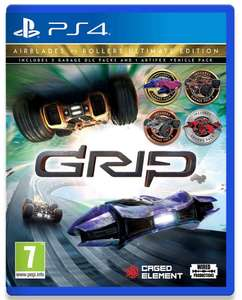 GRIP: Combat Racing Rollers VS AirBlades Ultimate sur PS4