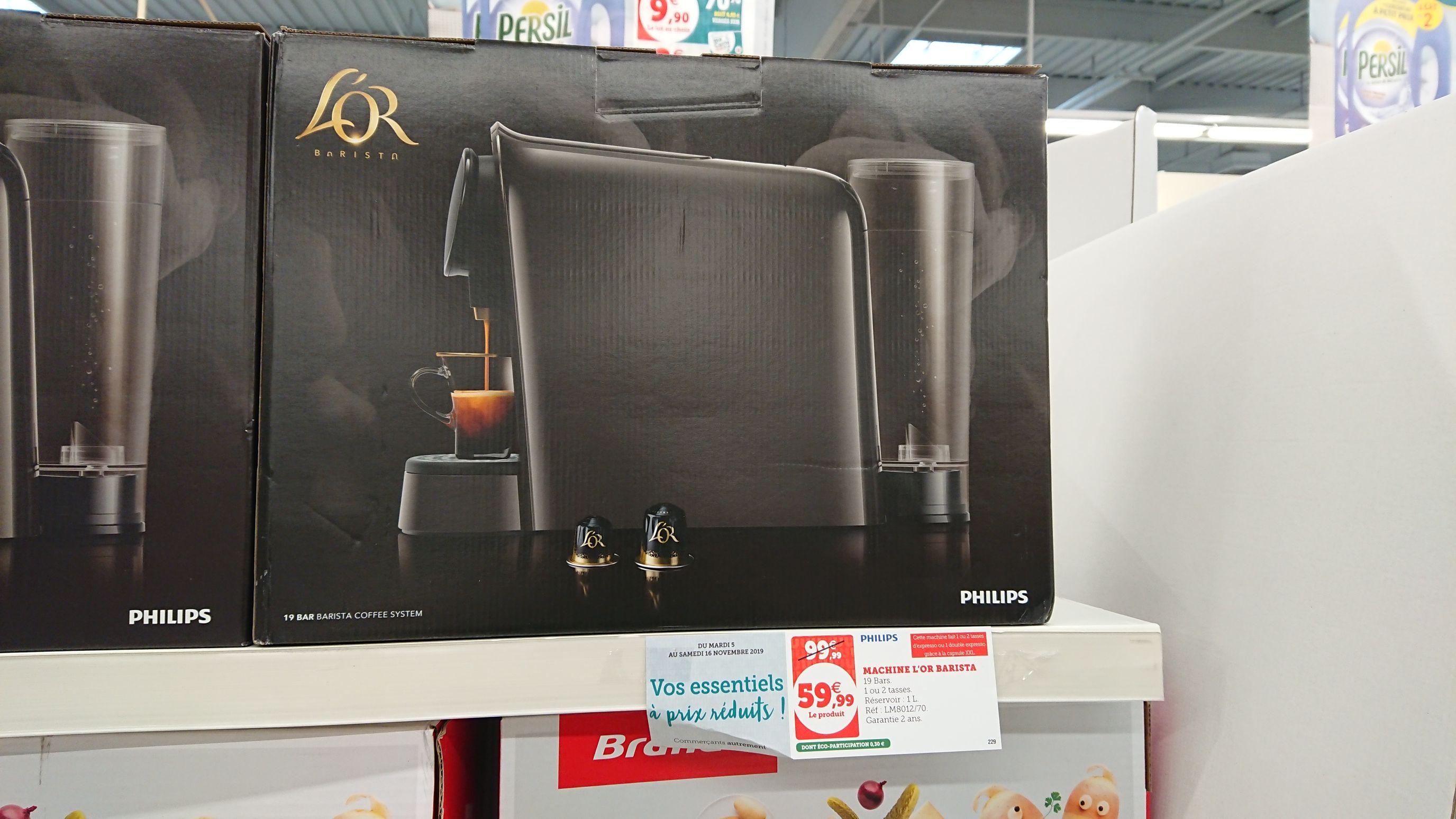 Machine à café l'Or Barista LM8012/70 - Super U Mauleon (79)