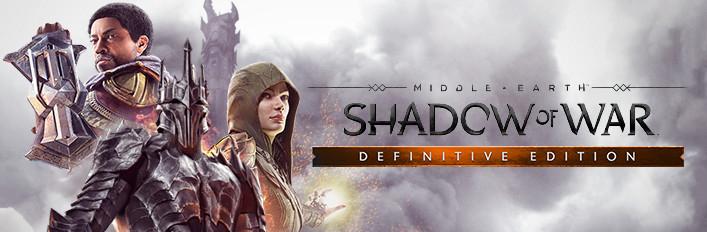 Middle-Earth : Shadow of War Definitive Edition - Le Jeu de base + Tous les dlc sur PC (Dématérialisé - Steam)