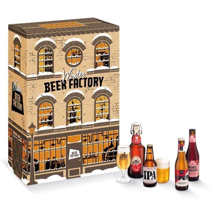Calendrier de l'avent Heineken Winter Beer Factory