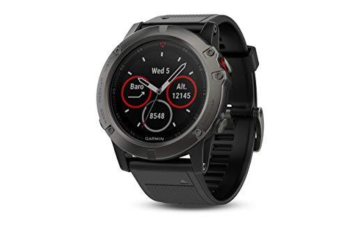Montre GPS connectée Garmin Fenix 5X Sapphire (Taxes et frais de port inclues)