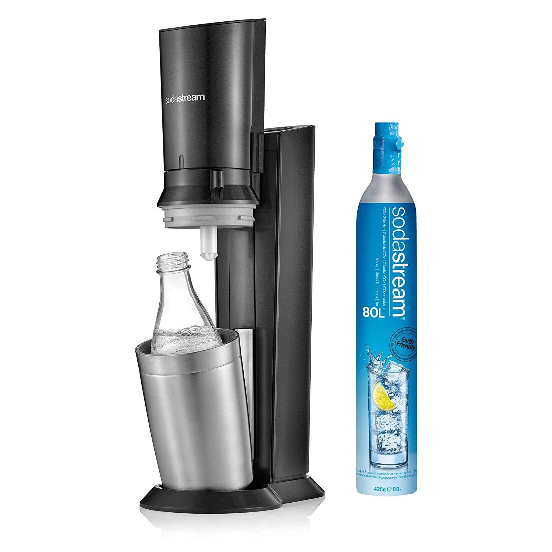Machine à soda et eau gazeuse Sodastream Crystal - Noir - Saint-Ouen-l'Aumône(95)