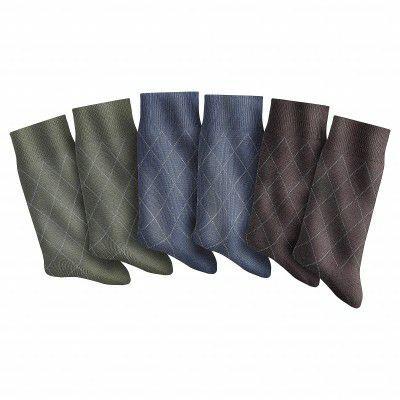 Lot de 12 paires de chaussettes (2x6 paires) - Taille 39/42