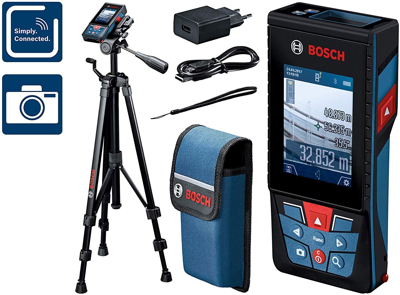 Télémètre Laser Bosch Professional Glm 120 C Bluetooth