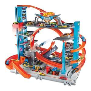 Jouet Mattel Hot Wheels City Méga garage (Via 10€ sur la carte)