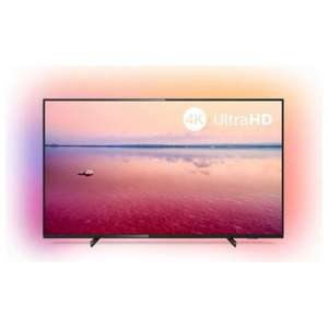 """TV 75"""" Philips 75PUS6704 - 4K UHD, HDR 10+, Ambilight 3 côtés, Dolby Vision & Atmos"""