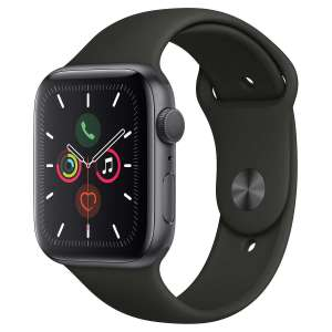 Montre Connectée Apple Watch Series 5 - 44 Mm, Gris sidéral (+22€ en SuperPoints)