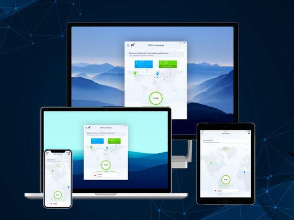 Abonnement au service de VPN KeepSolid VPN Unlimited - 5 postes, valable à vie (Dématérialisé)